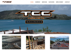 Tropical Concrete Constructions
